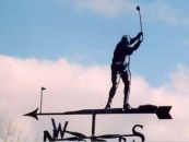 Golf Weathervane Designs
