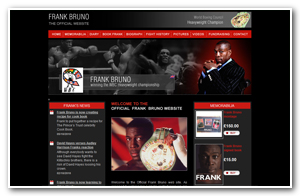 Frank Bruno - Website