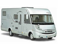Hymer from B Miller & Sons