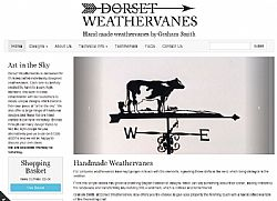 Radikls Launch Responsive Website for Dorset Weathervanes